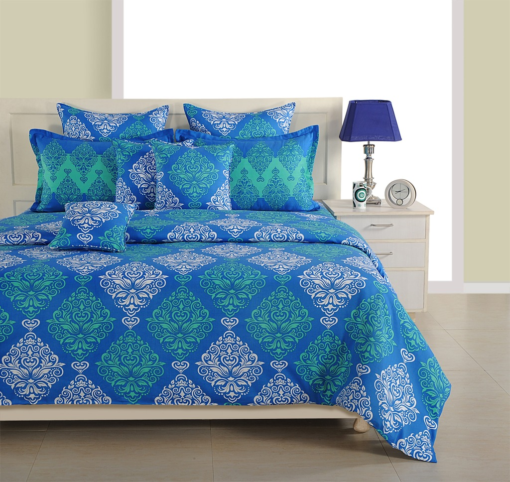 ddbd308013 Swayam italica Fitted Bedsheet
