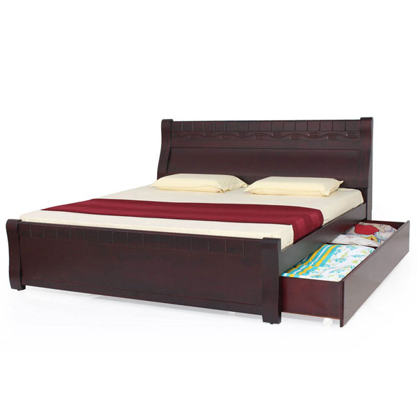 Charminar King cot with 1 storage