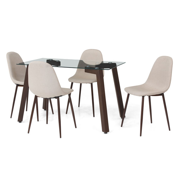 Fortuna 4 Seater Dining Table